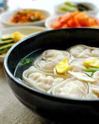 manduguk korean dumpling soup korean bapsang