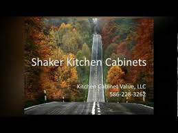 Landmark Kitchen Cabinets by Shaker Kitchen Cabinets Youtube
