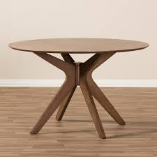 Modern Round Dining Table Wood Mid Century Modern Round Dining Tables Scroll To Next Itemmid