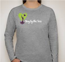 stay by the tree sweatshirt custom ink fundraising