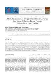 energy efficient home design plans a holistic approach of energy efficient building design case