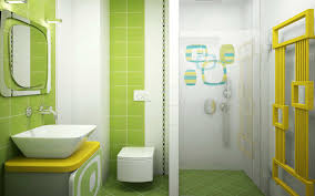 how to design bathroom design minimalist bathroom ideas with green color 2 house design