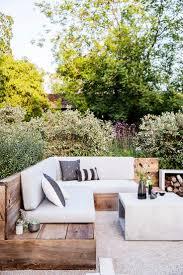 Backyards Design Ideas Backyard Design Guide Backyard Sunset And Bench Seat