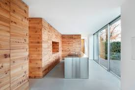 Glass Wall Panels Architecture Interior Private Residence In Dusseldorf By
