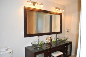framed bathroom mirrors diy attractive diy frame bathroom mirror bathroom design ideas