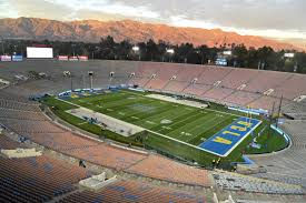 ucla football bench switches to the rose bowl u0027s shady side
