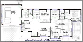 floor plans for 4 bedroom homes 4 bedroom house plans home planning ideas 2018