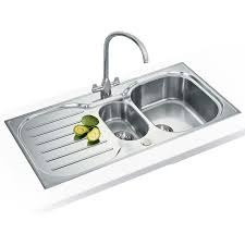 Bowl Stainless Steel Kitchen Sinks Plumbworld - Compact kitchen sinks stainless steel