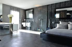 salle de bain dans une chambre modele de chambre a coucher avec dressing et salle de bain