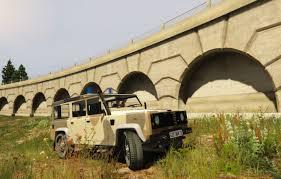land rover desert land rover defender 110 desert camo military texture gta5 mods com
