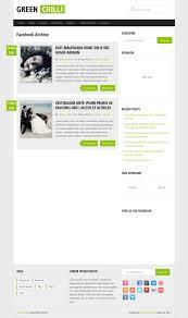 greenchilli wordpress theme review wp themes advisor 2018