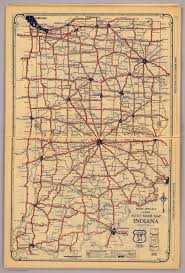 Indiana Road Map Indiana David Rumsey Historical Map Collection