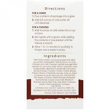 Rapid Rewards Card Invitation Bariwise Bariatric Chocolate Protein Diet Pudding Shake Mix