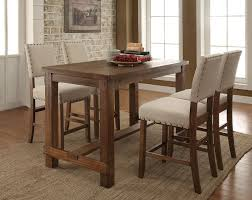 high dining room table sets 75 most divine counter height dining chairs kitchen table sets high