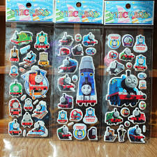 online get cheap sticker thomas and friends aliexpress com thomas and friends stickers for children classic toys 3d anime cartoon stickers adesivi 15pcs set