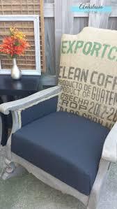 burlap coffee sack rocking chair domestically speaking