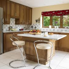 kitchen white kitchen cabinet wooden countertop white wall