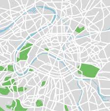 Map Of Paris France by Vector Pattern City Map Of Paris France Royalty Free Cliparts