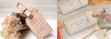 wedding luggage tags 5 wedding favours your guest will you for sydney