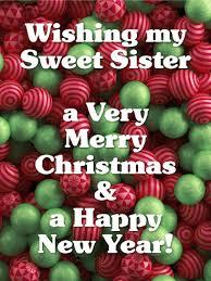 christmas cards for sister birthday u0026 greeting cards by davia