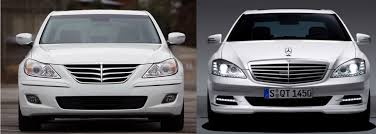 hyundai genesis vs ford fusion was that a hyundai or a mercedes with a bentley badge the daily