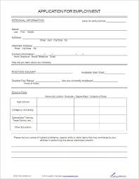 applications template application template free printable employement application