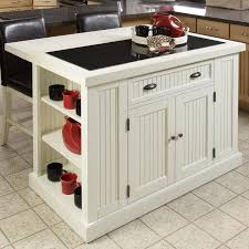 kitchen islands with granite top beachcrest home rabin kitchen island with granite top reviews