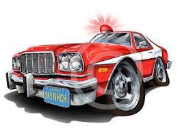 What Was Starsky And Hutch Car Starsky U0026 Hutch 76 Gran Torino Muscle Car Cartoon T Shirt