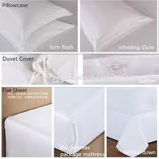 hotel textile supplies white cotton 5 star hotel king single