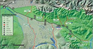 Wrangell Alaska Map by Off Road Vehicle Orv Trails Wrangell St Elias National Park