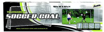 franklin sports 6 u0027 x 12 u0027 tournament goal