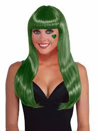 80 u0027s long straight chic disco wig hair w bangs sports team