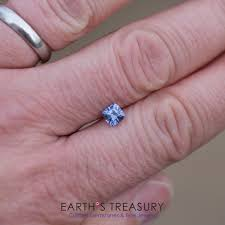 benitoite engagement ring 1 14 carat blue violet color change umba sapphire u2013 earth u0027s treasury