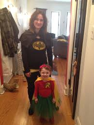 Adam Family Halloween Costumes by Mother Daughter Batman And Robin