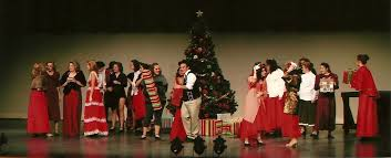 fall 2010 musical production white christmas southmoore