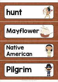 thanksgiving word wall thanksgiving words writing centers and