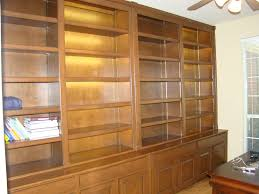 Bookcases With Lights Bookcases U2014 Wood Gem Custom Cabinets