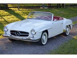 classic mercedes convertible classic mercedes benz 190sl for sale on classiccars com
