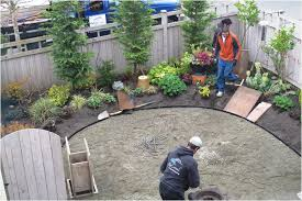 Backyard Gravel Ideas - backyards compact pea gravel patio with paver and furniture