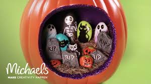 Michaels Crafts Halloween by Halloween Painted Rocks Michaels Youtube