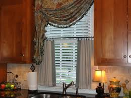 Kitchen Curtains With Fruit Design by Kitchen 54 Modern Kitchen Curtains For Bay Window With Round