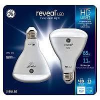 Ge Led Light Bulbs Ge 11 Watt A19 Reveal Hd Led Light Bulbs 2 Pack Sam U0027s Club