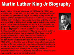 biography for martin luther king martin yans biography essay college paper academic service