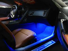 Custom Corvette Interior C7 Corvette Led Footwell Lighting Kit Rpidesigns Com