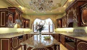 luxury kitchen furniture luxury kitchen custom made with carving detail white painted gold