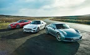 lexus vs mercedes race absolutely fine eleven porsche 911 carrera s vs mercedes amg gt s