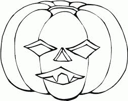 free printable pumpkin coloring pages for kids at halloween