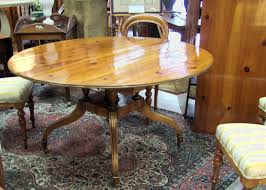 Baker Dining Room Furniture 8191 Baker Dining Room Table With Two Leaves For Sale Antiques