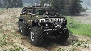 hummer jeep hummer h2 6x6 diesel 03 03 16 for spin tires