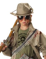 scary halloween costumes for boys zombie hunter boys u0027 child halloween costume walmart com
